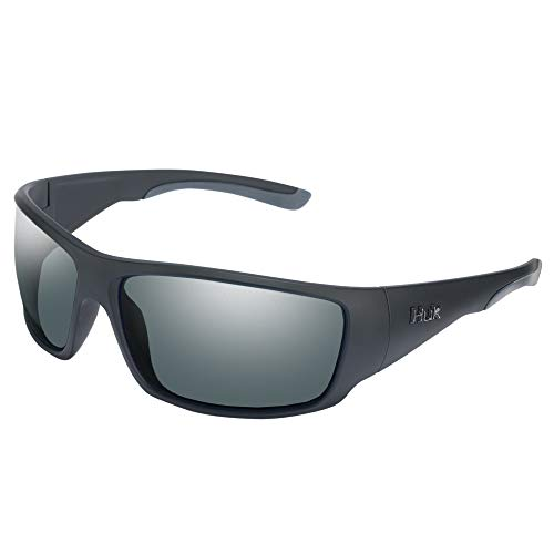 Huk Fishing Polarized Full Frame Sunglasses with Scratch Resistance and UV Protection