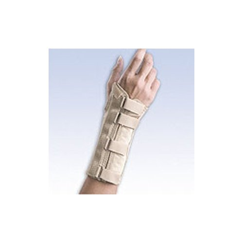 Fla 22-5601SBEG Soft Form Elegant Wrist Support for Right, Beige, Extra Small