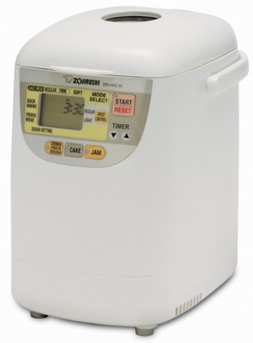 Zojirushi BB-HAC10 Home Bakery 1-Pound-Loaf Programmable Mini Breadmaker by Zojirushi