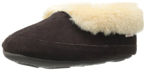 Tamarac by Slippers International Women's Galaxie Shearling Slipper,Rootbeer,9 M US