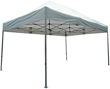 INTEROUGE PLITECH Quality - Carpa Gazebo para Jardín Plegable 3x4.5m Impermeable (40mm Estructura de Aluminio + 300g/m² PVC Cubierta): Amazon.es: Jardín