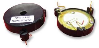 PIEZO TRANSDUCER, SELF DRIVE KPEG132 By KINGSTATE KPEG132-KINGSTATE