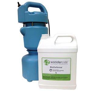 Wondercide BioDefense Organic Pest Control with ULV Fogger, Cedar, 1 gallon, 1 fogger