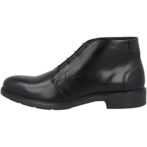 Geox DUBLIN Herrenschuhe elegante Halbschuhe Schnürschuhe schwarz NEU