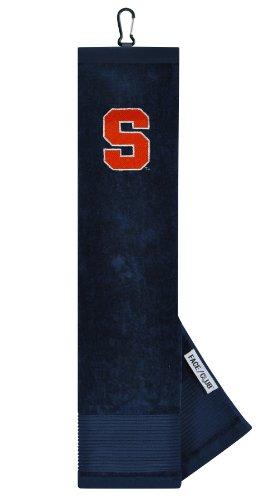 Syracuse Orange Face/Club Embroidered Towel