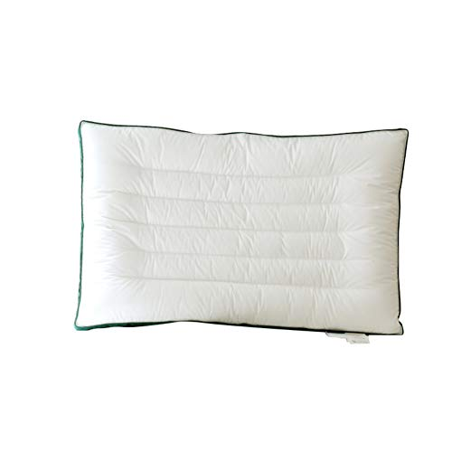 GX&XD Cotton Soft ConForming Standard Pillow,Ultra-thin Low Bed pillows For...