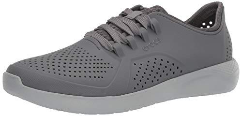 Tênis, Crocs, Literide Pacer, Masculino, Charcoal/light Grey, 41
