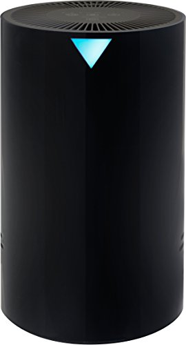 Powerful Air - RevitalAir AHEP-811005 Compact True HEPA 4-in-1 Air Purifier, Black