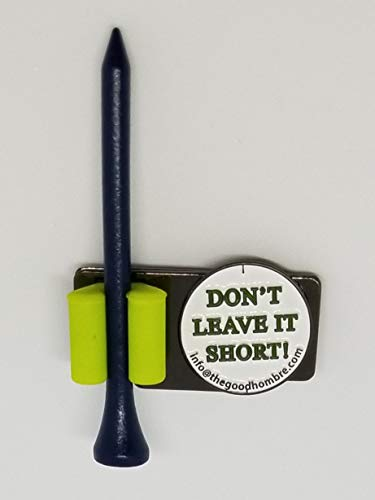 Hat clip with ball marker & tee holder