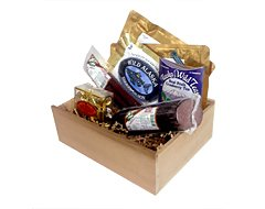 Kodiak Gift Box (7 different Alaskan gourmet foods) by Wild Alaskan Smoked Salmon & Seafood
