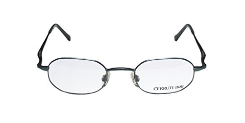 Cerruti 1881 C5218 Mens Ophthalmic Popular Style Designer Full-rim EyeglassesEye Glasses (46-21-140 Matte Blue)