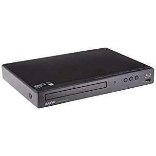 Sanyo Blu-ray / DVD Player with Built-in WiFi and USB Port (Renewed)