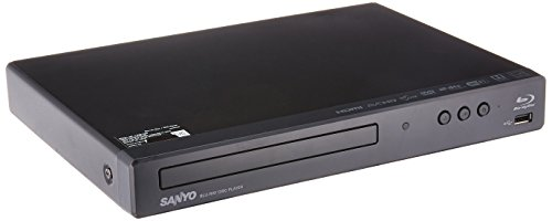 Sanyo Blu-ray / DVD Player with Built-in WiFi and USB Port