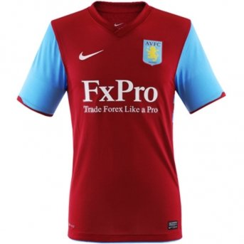 Aston Villa Home Shirt - ASTON VILLA Home Shirt 10/11 - Large