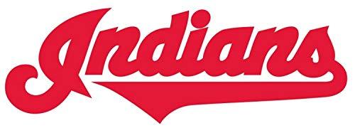 Cleveland Indians Window - Cleveland Indians Logo Die Cut Vinyl Sticker Decal