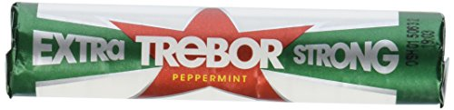 Trebor Extra Strong Mints Pack of 12 - Extra Strong Roll Mints