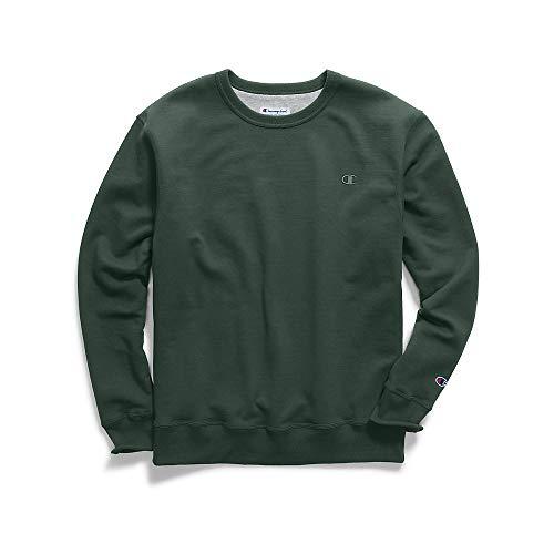 Champion Men's Powerblend Pullover Sweatshirt, Dark Green, XX-Large