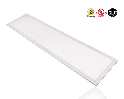 ILEN Edge-lit Flat LED Panel 1x4ft Dimmable 0-10v 35W 100lm/w 5000K UL and DLC Approved by ILEN