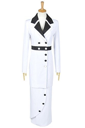 Titanic Costumes For Halloween - FancyStyle Titanic Cosplay Rose Costume Maiden Dress White Female L