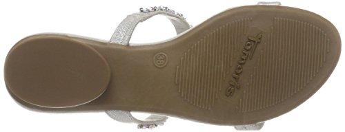 Tamaris Women's 27191 T-Bar Sandals Silver (Silver 941) s7cMy