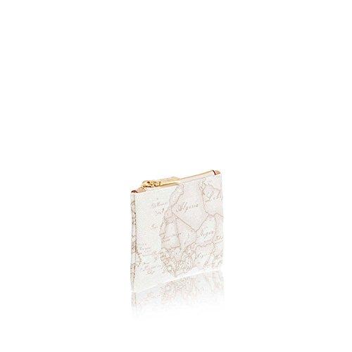 bianco 1 White Geo Porta Martini Alviero Cerniera Cm00161880900 classe Chiavi Con Busta PFHxSgq
