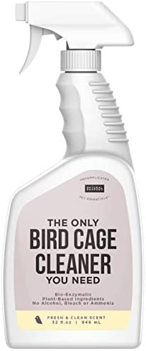 Natural Rapport Bird Cage Cleaner - The