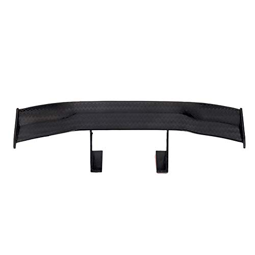 Car Auto Wing - YUSHHO56T Mini Spoiler External Modified Spoiler Universal Mini Spoiler Wing Auto Car Tail Decoration Car-Styling Adhesive Gift - Black