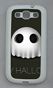 Samsung Galaxy S3 I9300 TPU Supple Shell Case Halloween Holiday 17 White Skin by Sallylotus