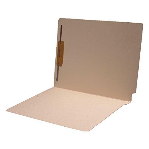 11 pt Cutless Manila Folders, Full Cut 2-Ply End Tab, Letter Size, Fastener Pos #1 (Box of 50)