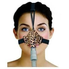 Sleepweaver Sleep Mask - positive airway control (Leopard)