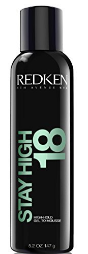 Redken Stay High 18 Hold Gel To Mousse for Unisex, 5.2 -