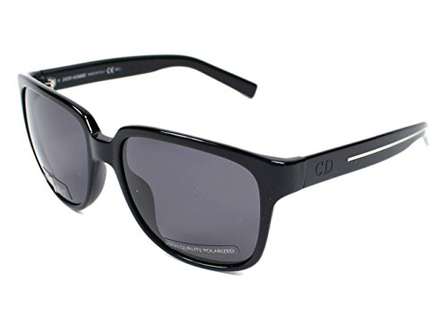 Christian Dior Black Tie 146/S Sunglasses Black / Smoke - Christian Sunglasses Tie Dior Black