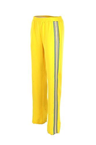 2018 Giallo Pantalone Pinko 42 Eliminare Donna Primavera Estate w0Rq1gRx