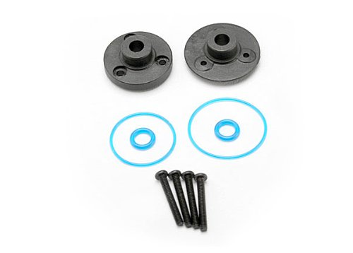 Traxxas 7080 1/16 Scale Differential Cover Plates and Seals