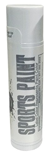 Elite Choice Silver Metallic Eye Black - Football Eye Black Stick - Ideal for Mardi Gras Kids, Adults, Athletes and Fans - Eyeblack for Field Hockey, Baseball, Softball and Lacrosse (Silver Metallic) ()