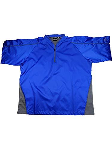 Mizuno Protect Batting Jersey, Royal, X-Large