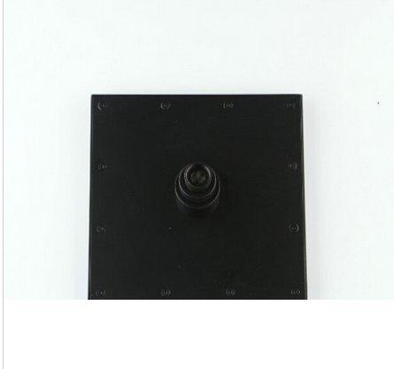 GOWE Big LED Large Oil Rubbed Bronze 16'' Rain Shower Head 2 pcs Rain Shower Sprayer by Gowe