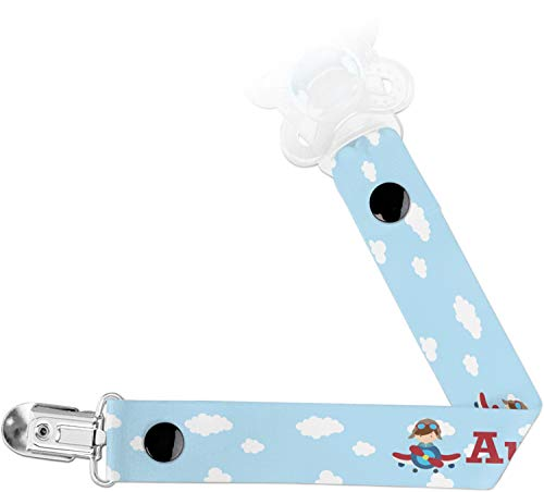 Airplane & Pilot Pacifier Clips - Airplane Pacifier