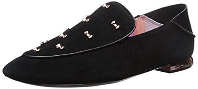 Ted Baker Women's BUIJAB SUED AF Black Sneaker