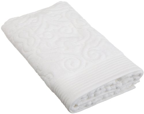 Peacock Alley Park Avenue Guest Towel, White
