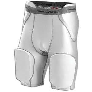 Rawlings Men's Fgp5 Protective Pant (Silver Grey, Small)