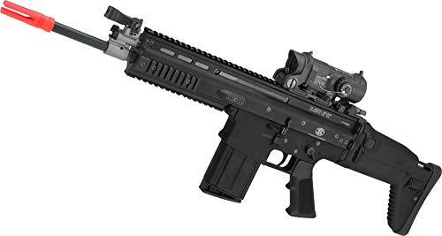 Evike FN Herstal Scar-H STD Licensed MK17 Gas Blowback Airsoft Rifle by WE-Tech