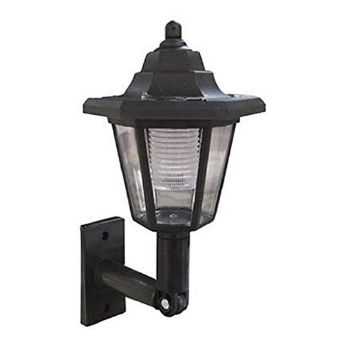 [Newest 2019] Solar Power LED Light Path Way Wall Landscape Mount Garden Fence Lamp Outdoor Night Lights Home Decoration…
