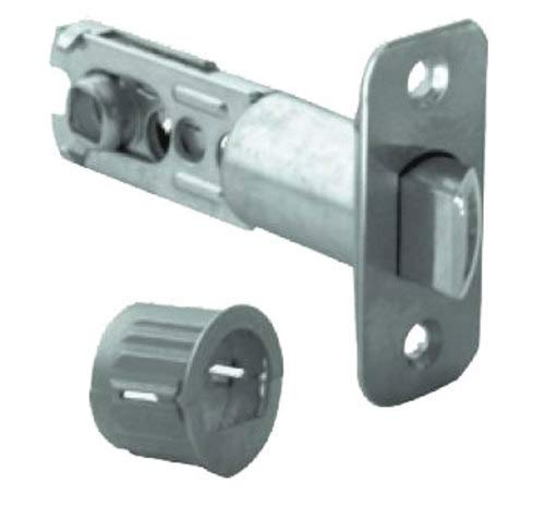 (Schlage 16-254 Dual Option Adjustable Spring Latch, Satin Stainless Steel )