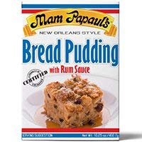 Pudding Bread Mix - Mam Papauls Sauce Bread Puddng W Rum