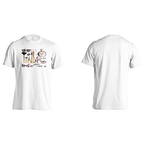 Neue Kosmetische Elemente Sammlung Herren T-Shirt l193m