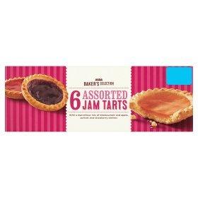 Assorted Jam (Asda 6 Assorted Jam Tarts)