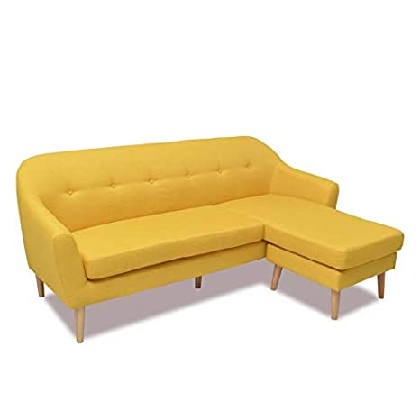 Ventamueblesonline SOFÁ Chaise Longue Retro-Vintage: Amazon ...