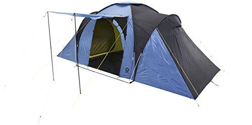 Grand Canyon Atlanta 4 - Familienzelt (4-Personen-Zelt), blau/schwarz, 302209