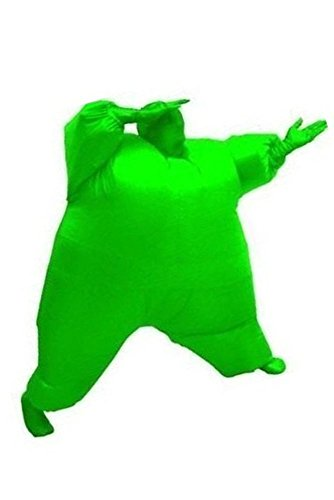 [Chub Suit Costume Inflatable Blow Up Chubsuit Bodycon Jumpsuit] (Inflatable Chub Suit Costume)